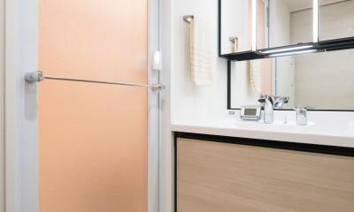設備の進化は快適に通ず (洗面室)