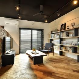 築40年のマンションをNYスタイルに 男前ブルックリンハウス