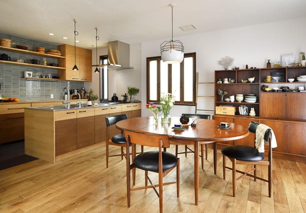 新しい家は体にやさしい自然素材 (広々のびやかに過ごせるLDK)