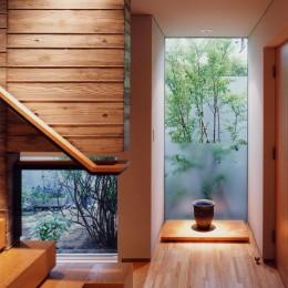 白楽の家 (階段ホール)