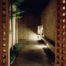 白楽の家の写真 路地夜景