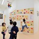 横須賀市 ~にじのそら保育園~の写真 子どもたちに人気のボルダリングスペース