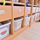 横須賀市 ~にじのそら保育園~の写真 子どもたちのロッカー
