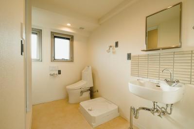 洗面所・ランドリー・WC・脱衣室 (大空間のワンルーム)