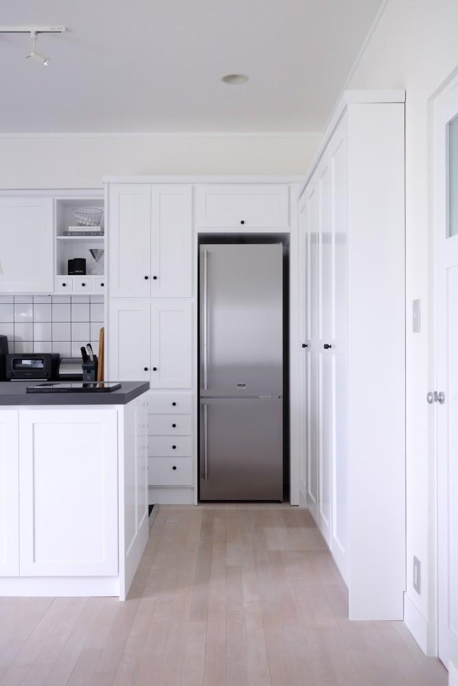 M邸 (冷蔵庫もすっりと)