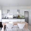 M邸の写真 開放的なキッチン