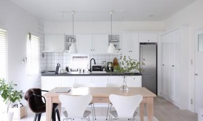 M邸 (開放的なキッチン)