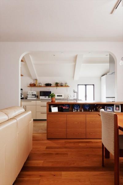 キッチン (M様邸_これからの二人のために)