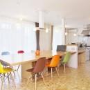 OSB House ~おおきく 育つ ぼくたちの家~の写真 ダイニング・キッチン