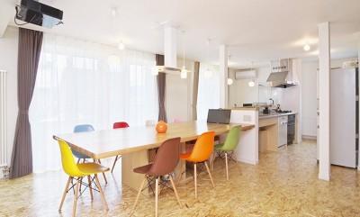 OSB House ~おおきく 育つ ぼくたちの家~ (ダイニング・キッチン)