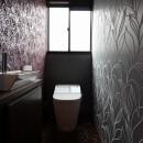 アジアンリゾート風リノベーションの写真 トイレ