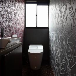 アジアンリゾート風リノベーション (トイレ)