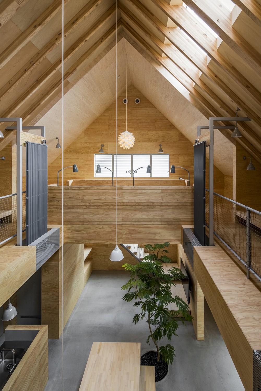 ベッドルーム事例:2階_子世帯スペース(ハコフネ)