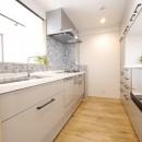 『無垢の暮らしをシンプルに』の写真 キッチン