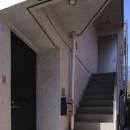 【神宮前 フラッツ AL - 親の家】 多様な用途を内包する箱の写真 玄関