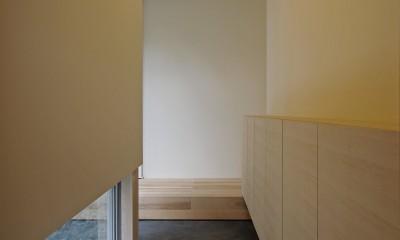 牛川の家-ushikawa (玄関)
