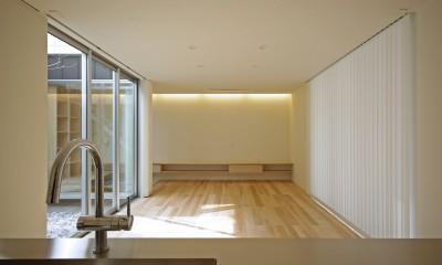 牛川の家-ushikawa (リビング)