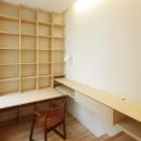 牛川の家-ushikawaの写真 書斎