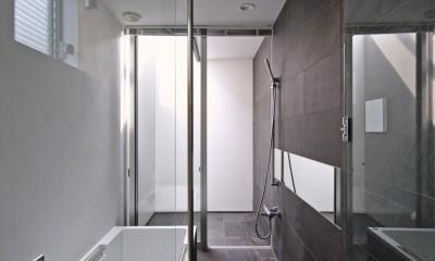 牛川の家-ushikawa (浴室)