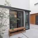 Shibuya-somoの写真 中庭空間のある賃貸住宅