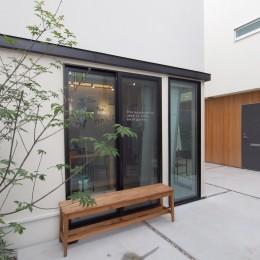 Shibuya-somo (中庭空間のある賃貸住宅)