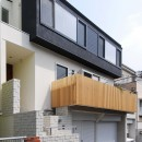 house-w 世田谷のリノベーション住宅の写真 リノベーション住宅外観デザイン