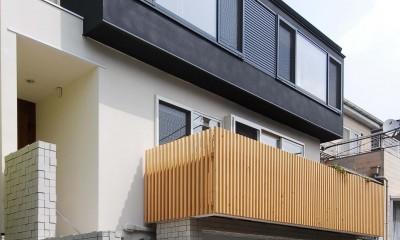 house-w 世田谷のリノベーション住宅 (リノベーション住宅外観デザイン)