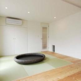 house-w 世田谷のリノベーション住宅 (リビング横の和スペース)