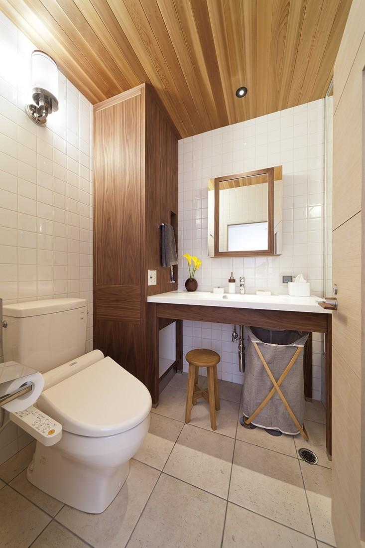 スタイルイズスティルリビング ショールーム〜外国人向け住宅のリノベーション〜 (バスルーム)
