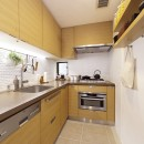 スタイルイズスティルリビング ショールーム〜外国人向け住宅のリノベーション〜の写真 キッチン