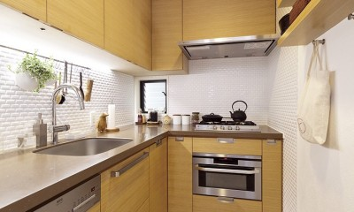 スタイルイズスティルリビング ショールーム〜外国人向け住宅のリノベーション〜 (キッチン)