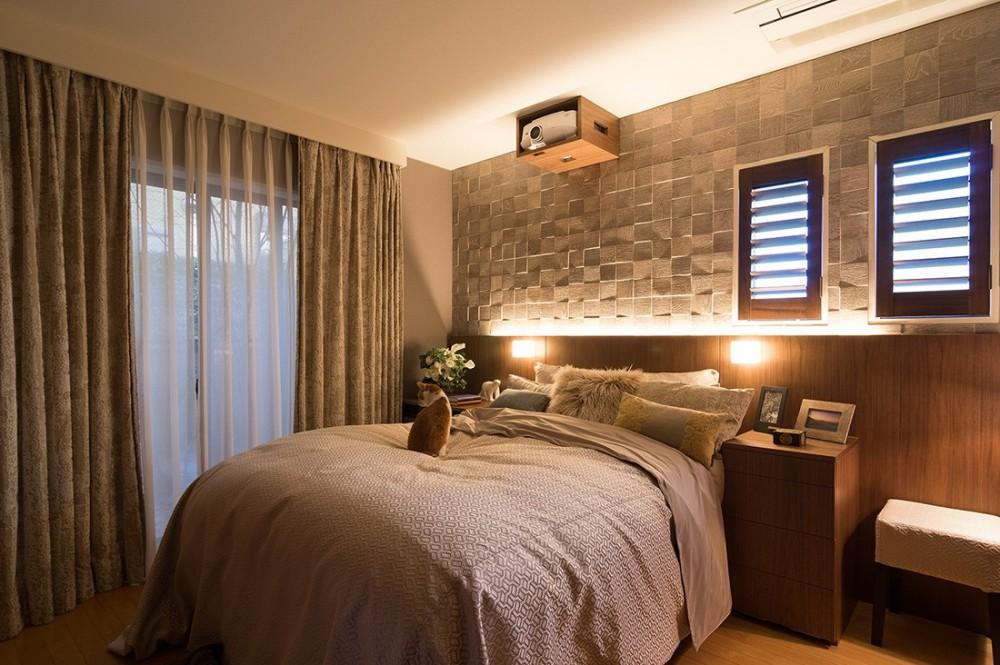 スタイルイズスティルリビング ショールーム〜外国人向け住宅のリノベーション〜 (寝室)