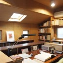 書斎とアトリエのある家|A HOUSEの写真 書斎