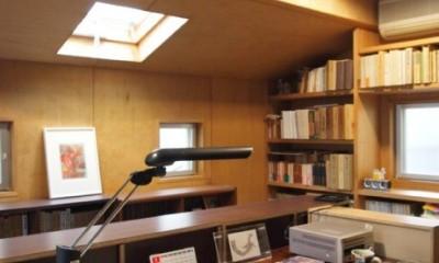 書斎とアトリエのある家|A HOUSE (書斎)
