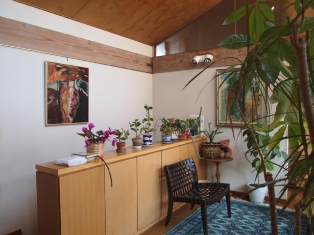 その他事例:2階ホール(書斎とアトリエのある家|A HOUSE)