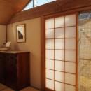 書斎とアトリエのある家|A HOUSEの写真 和室