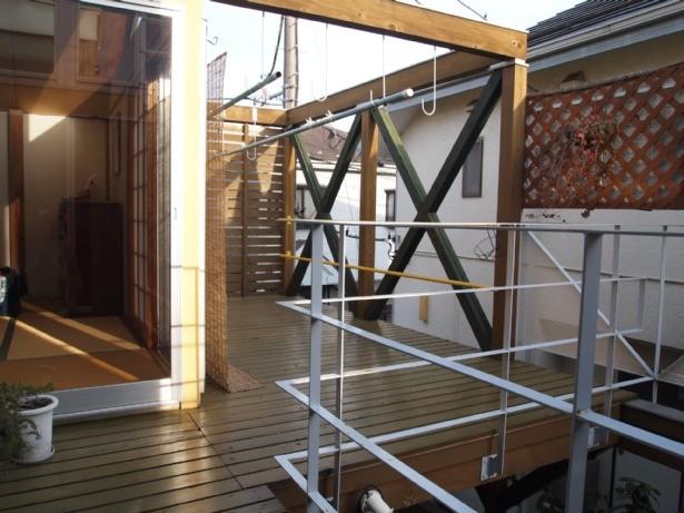 書斎とアトリエのある家|A HOUSE (2階テラス)