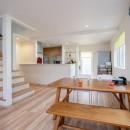 震災で決断!実家で楽しく子育てできる住まいへの写真 ダイニング・キッチン