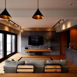 U様邸_―U Style― (LDK)