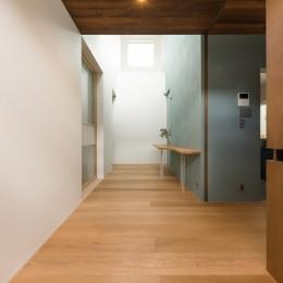 Aobadai no ie -庇のある家- (玄関)