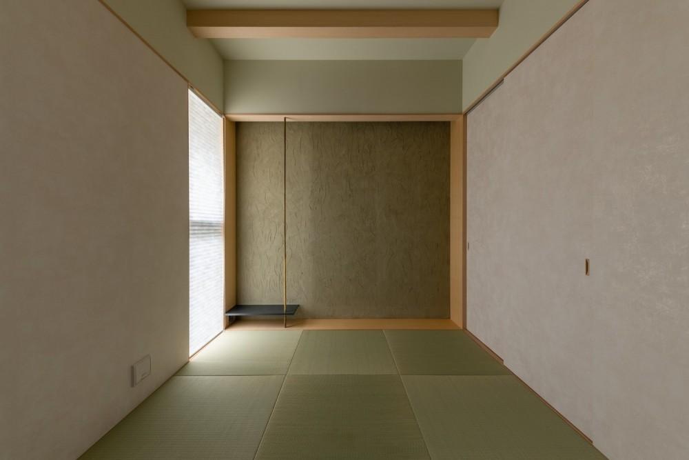 Aobadai no ie -庇のある家- (和室)