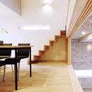 Tajima no ie -スキップフロアの家-の写真 ダイニング