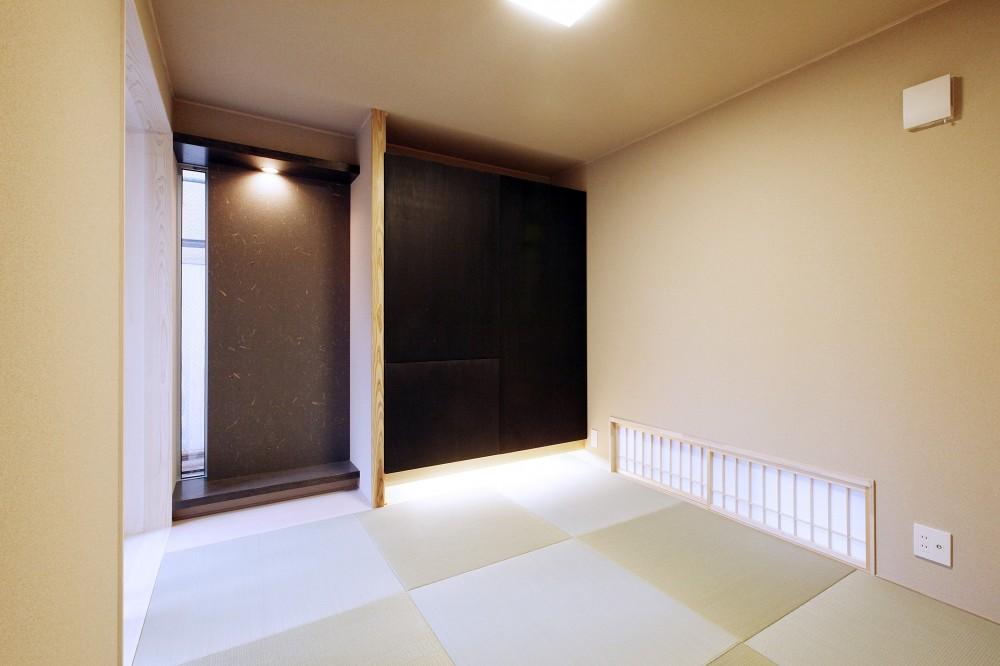 Tajima no ie -スキップフロアの家- (和室)