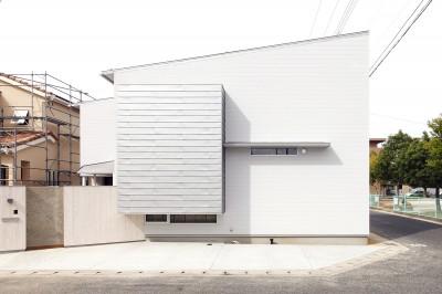 Tajima no ie -スキップフロアの家- (外観)