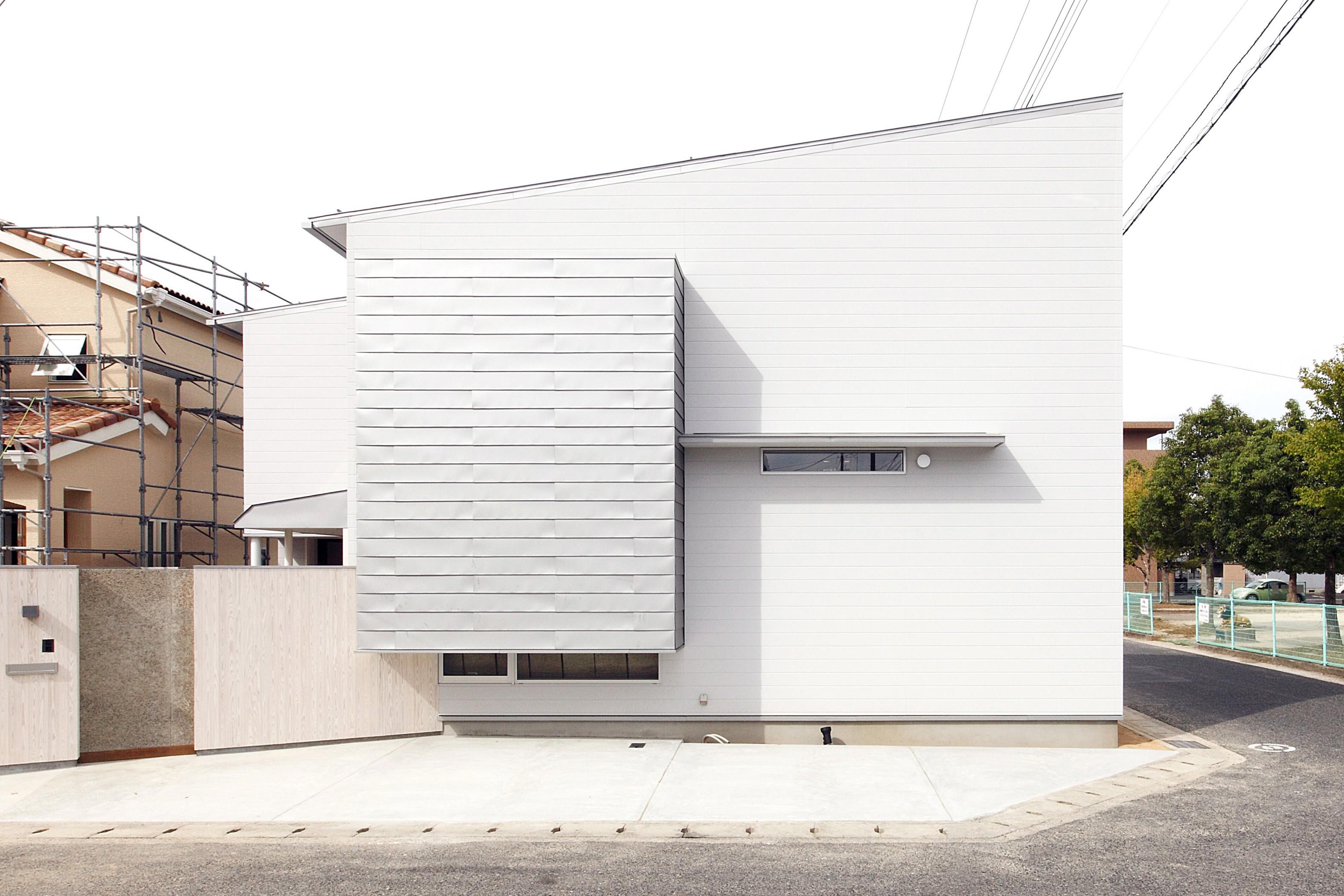 外観事例:外観(Tajima no ie -スキップフロアの家-)