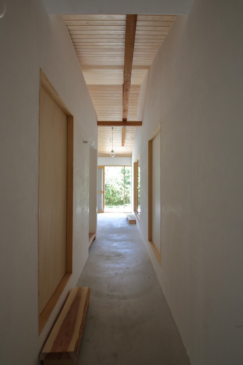 その他事例:土間廊下(Ouzo no ie -築60年の民家の改修-)