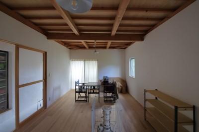 部屋 (Ouzo no ie -築60年の民家の改修-)