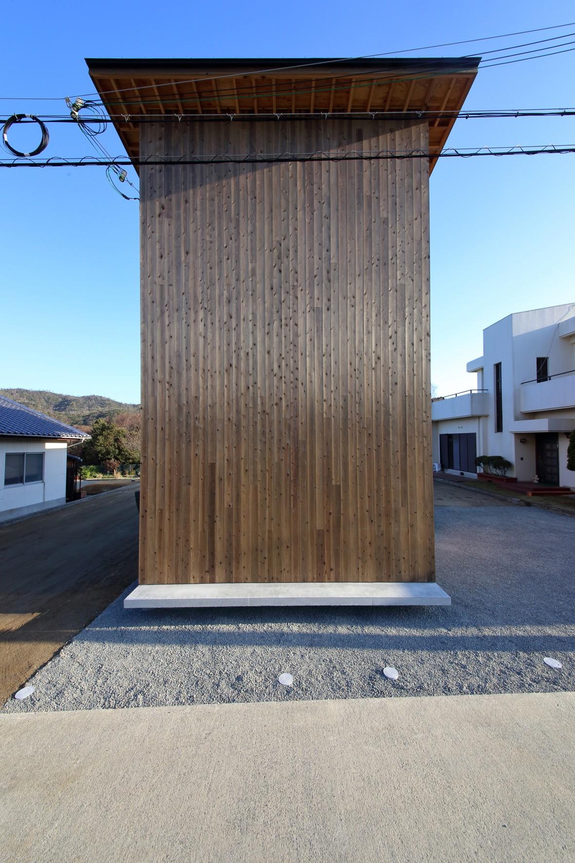 外観事例:外観(Tsui no ie -風景を楽しむ家-)