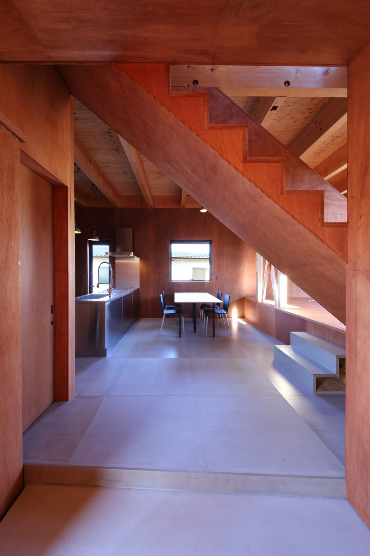 Tsui no ie -風景を楽しむ家- (玄関)
