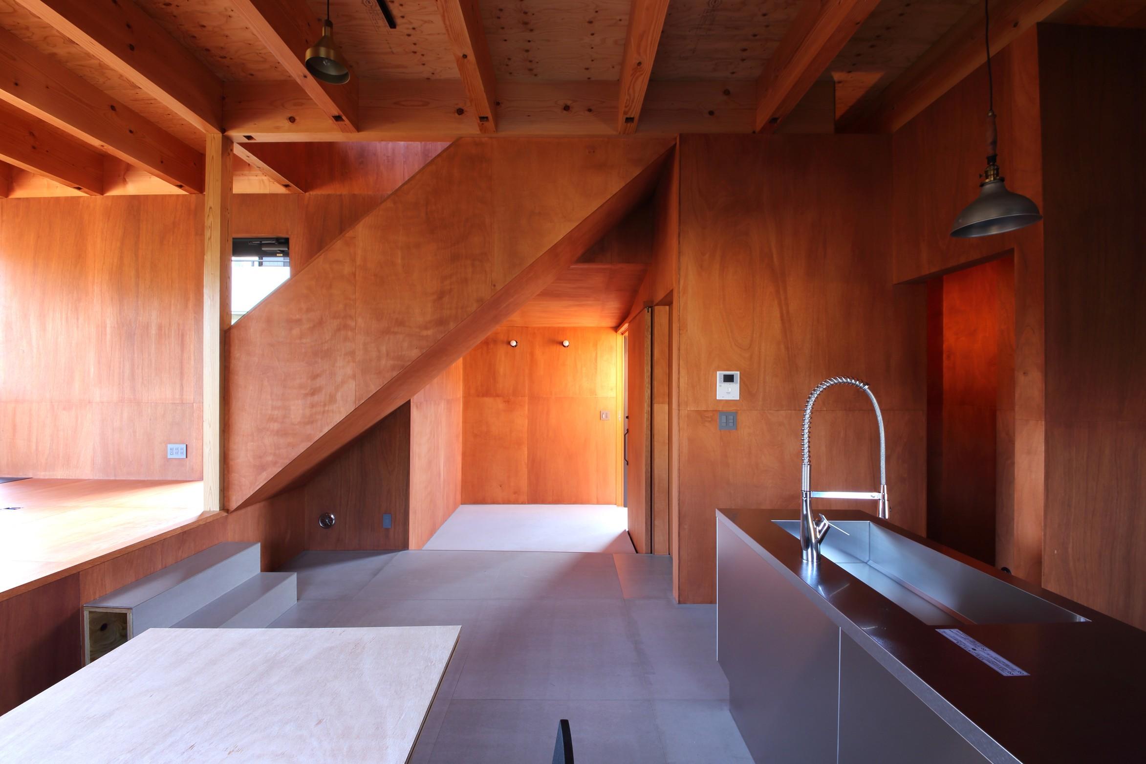 キッチン事例:キッチン(Tsui no ie -風景を楽しむ家-)